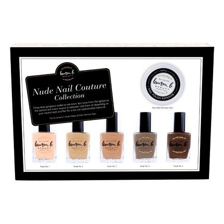 Lauren B. Beauty Nude Collection Nail Polishes Set