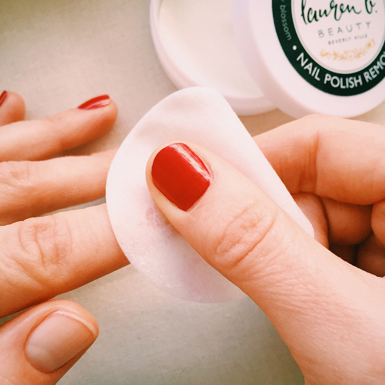 Nail Polish Remover Pads By Lauren B Beauty