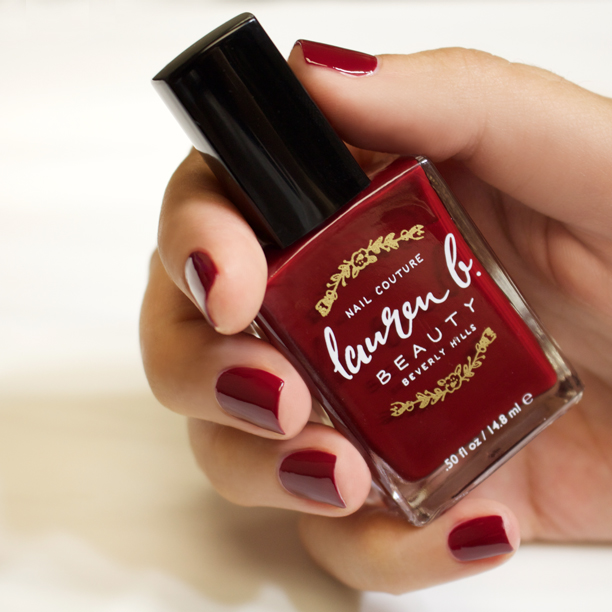 Lauren B Polish in laurel canyon lover