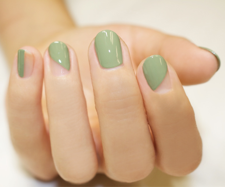 Lauren B Beauty Gel Top Coat on Nails